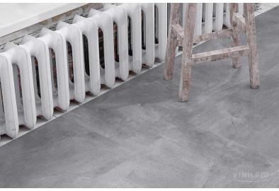 Серый Бетон 61602 Glue Виниловый ламинат